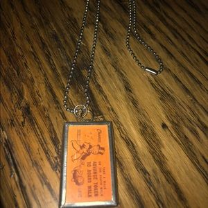 Reversible Monopoly necklace